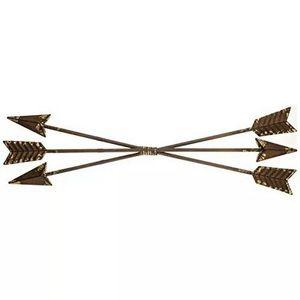 Rustic Metal Three Arrow Wall Decor Hanging
